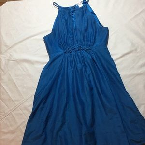 Washed Silk and Cotton Dress